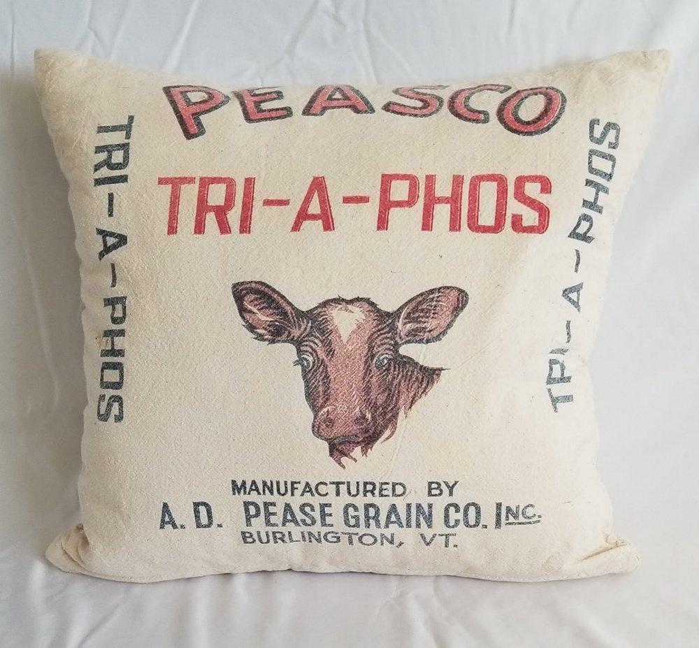 Grain Sack Pillow III