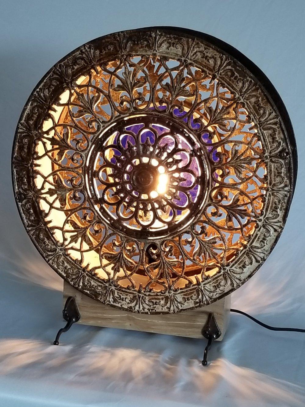 Round Stove Grate Light