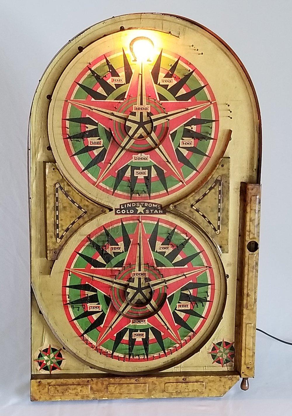 Vintage Pinball Game Light