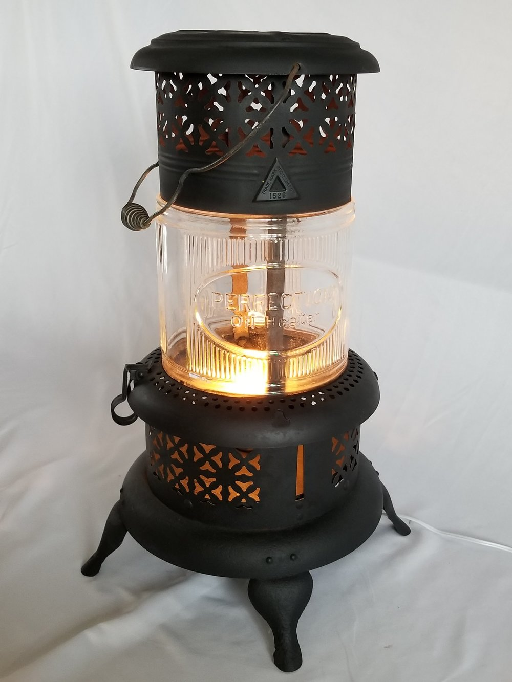 Black Heater Light
