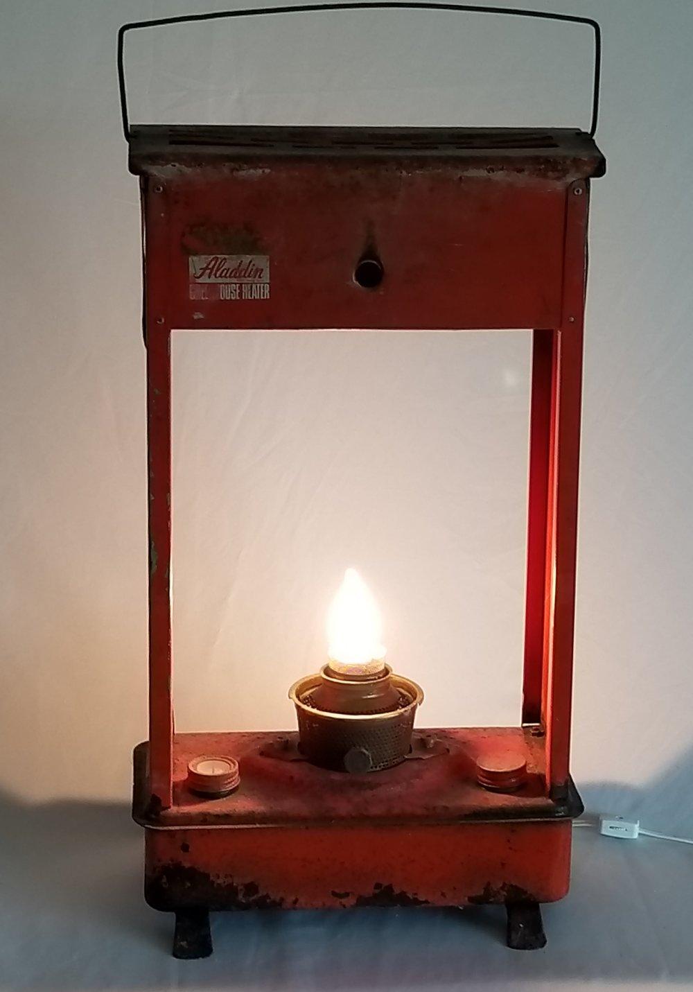 Greenhouse Heater Light