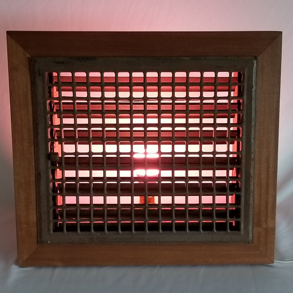 Louvered Grate Light