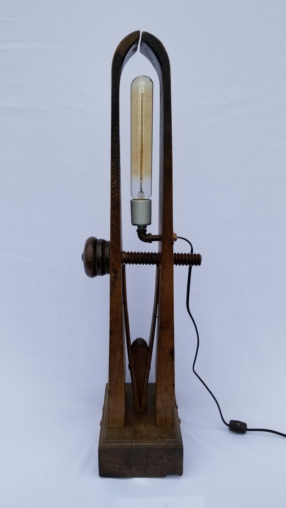 Saddle-Maker's Tool Lamp