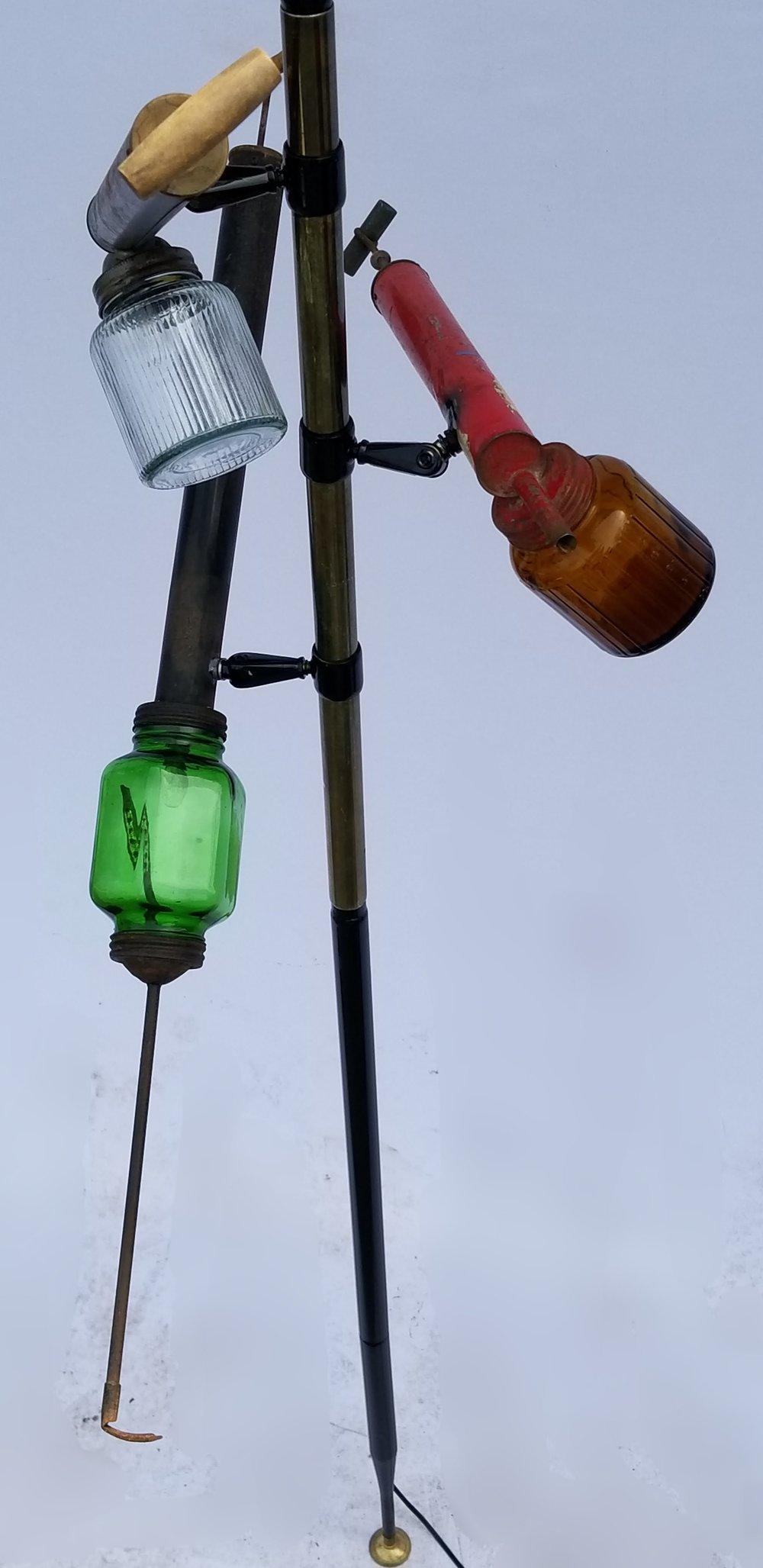 Vegetable Duster Pole Lamp