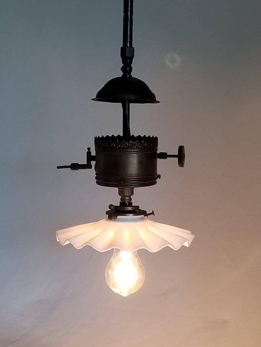 Brass Gas Light