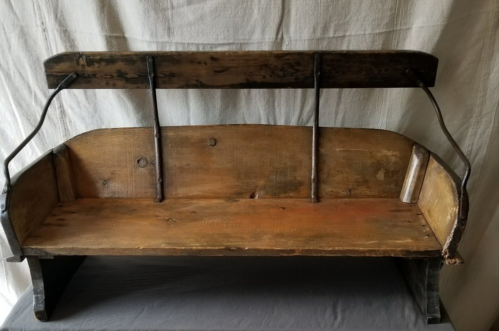 SOLD - Carriage Bench