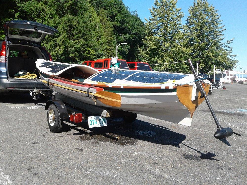 Launching at Tacoma