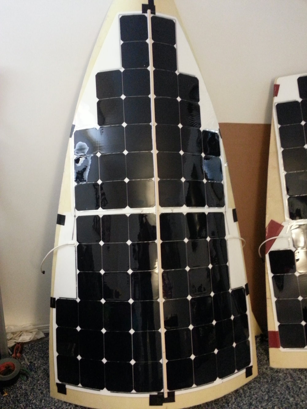"""Front Solar Panel - The Old """"Sucky"""" Way"""""""