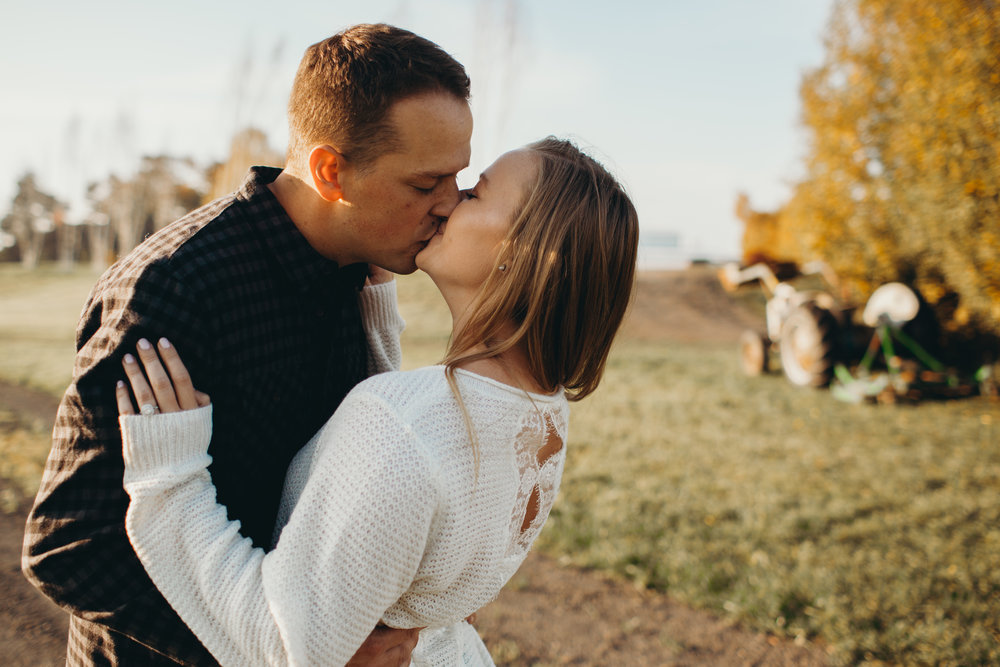 jess & sam - dairyland engagements