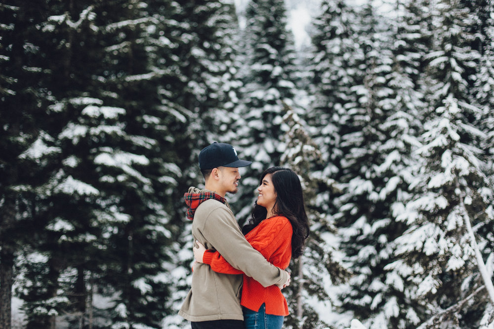 rithanie & anthony - snoqualmie engagements