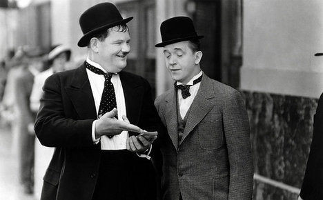 Laurel and Hardy: the most famous duo of the 20th century