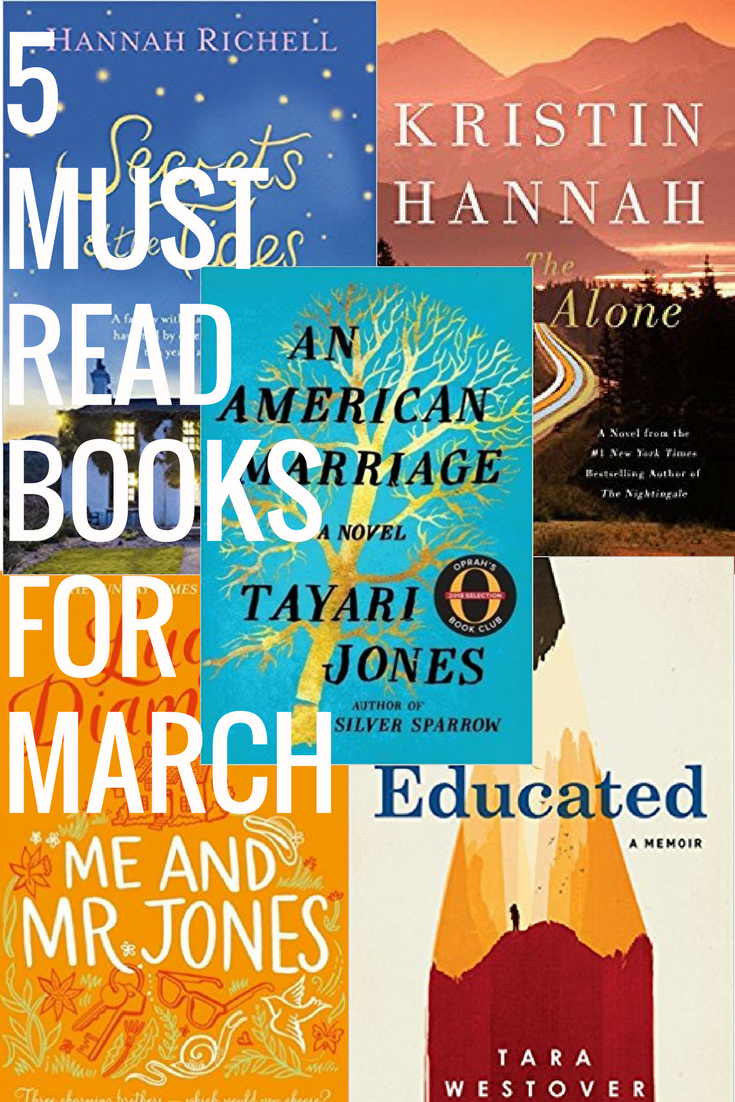 5 MUST READ BOOKS FOR MARCH