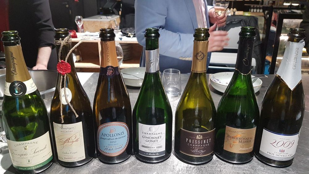 Champagne, Terroirs, etc. Pairing Masterclass 2018   What a privilege to be surrounded by Champagne producers and learn how to pair their incredible Champagnes with delicious canapes prepared on site by the talented team at Piano des Chefs, Reims