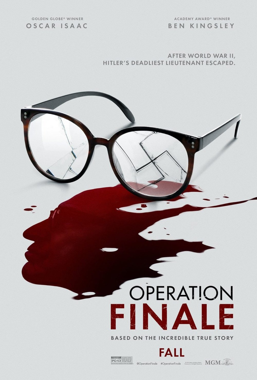 "Operation Finale - by Kathia WoodsOperation Finale is a new incarnation of the story of the capture of Adolf Eichmann a former SS officer also known as the architect of the final solution. This version stars Oscar Isaac from Star Wars fame as Peter Malkin and Ben Kinsley as Eichmann. In this retelling, we learn more about the team that captures Eichmann. It facilitates the connection of Family members lost in the camps with their mission. Some want to approach the manner with aggression while others want to pursue due process. Either way, the goal is justice.There are some challenges with this movie. The opening scene does not tie into the film. Also, there was a disconnect from why Malkin character was the dark sheep of the team. I can understand what Chris Weitz mission was with this movie, but there were moments when we needed to know more but received no explanation. An example of this unclarity is Klaus. He calls Eichmann his uncle but then later its revealed that's his father. The viewer is made to believe that Klaus accepts his father role in the war wholly and embraces being a Nazi as a good thing. Another one is his girlfriend Sylvia whom he meets in a movie theater interesting enough during a viewing of ""Imitation of Life."" Sylvia like Annie is passing. Instead of as another race but another religion. Why would a girl raised in humanity embrace the evil history of the fatherland want to date a boy that is racist?Lastly, how is Argentina allowing meetings of Nazi party members with the support of the government? The questions arise already at the beginning of the movie. The overall issue with this is the film is that we leave having more questions than answers. Here is one of the most villainous war criminals of WW2 but if you're not familiar with the story are still uninformed about his being. Also, why was this trial held in Israel over Germany or the Hauge?Concerning performances, Isaac is stable as Melkin. Ben Kingsley is a gifted actor was not the best fit as Eichmann. Eichmann is German, and Kinsley retains his British Accent throughout the film. These stories are important because we if we don't learn from history, we are doomed to repeat it.Diversity- 5 I felt we could have had more understanding of the Jewish culture and why it was so crucial to all to capture this man. We received generalities but not specifics.A scale of 1-10= 6"