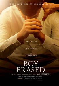 Review of Boy Erased - by Kathia WoodsDiversity- I give it a