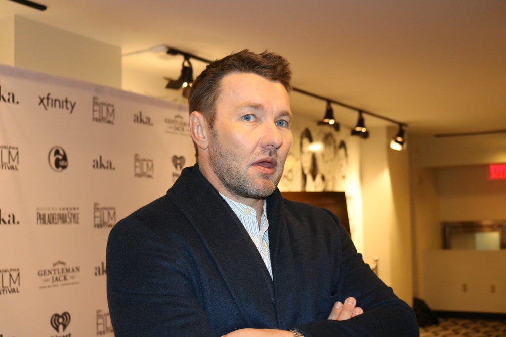 "Interview with Joel Edgerton - Philadelphia Film Festival on ""Boy Erased""Joel Edgerton came to share his latest movie."