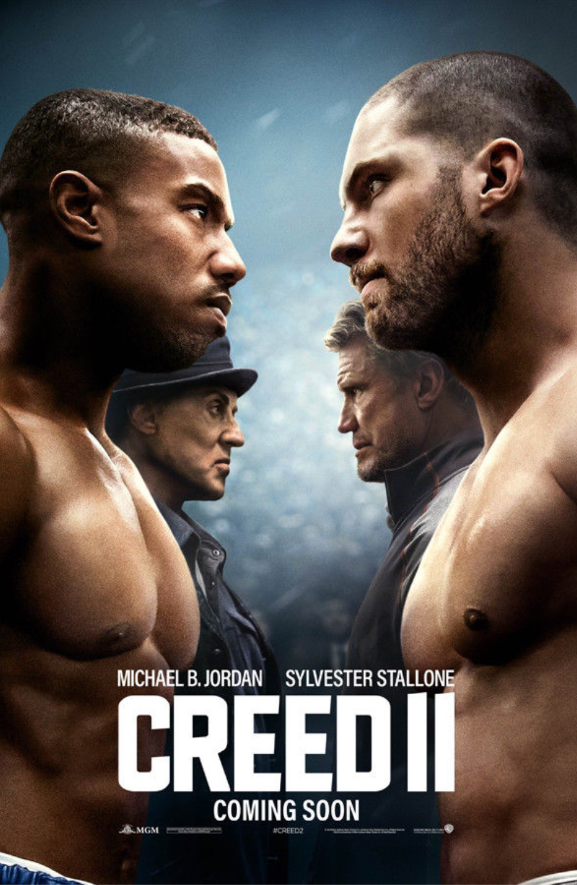Review of Creed II - by Kathia WoodsRocky has been a part of our lives for over twenty years. He has a special relationship with the audience. Creed brought in a new generation and a new people's champ.
