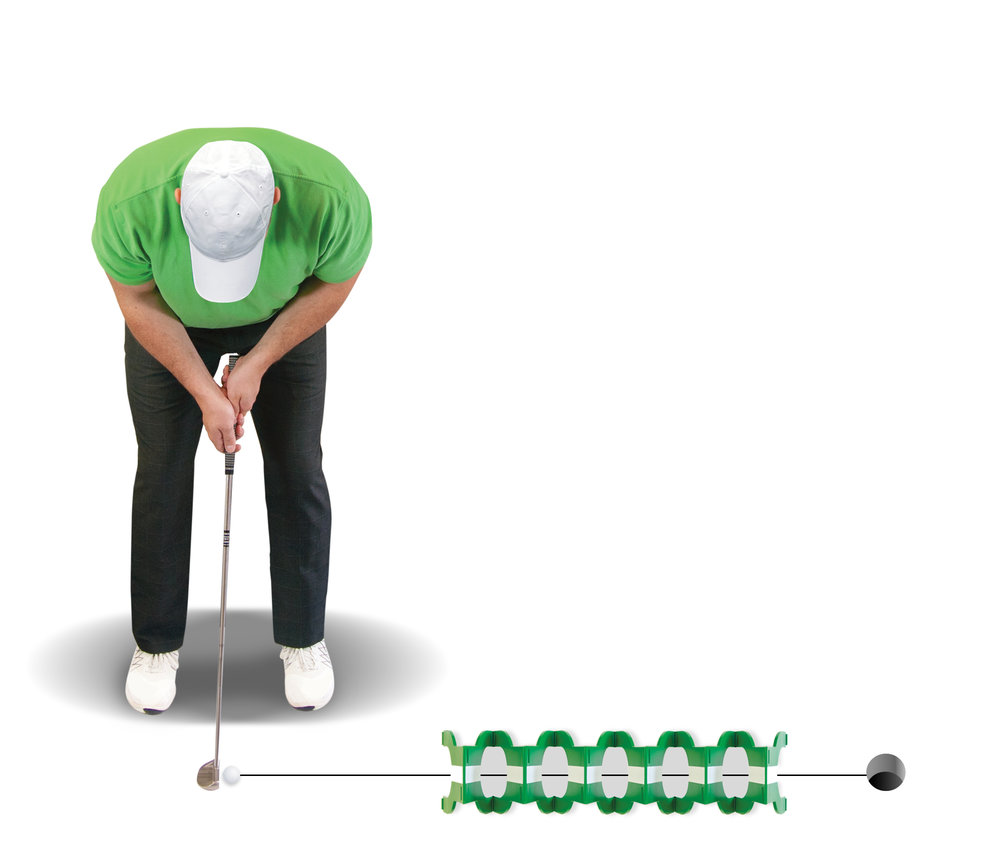 Solve the #1 putting problem: - POOR ALIGNMENT