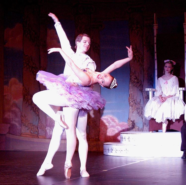 Photo from  The Nutcracker , 2003.