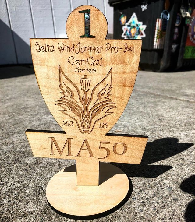 Trophies for the Delta Wind Jammer this weekend