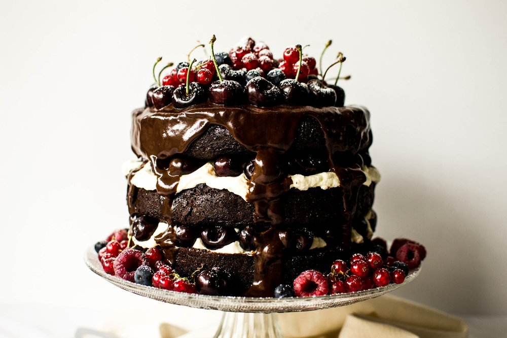 Black Forest Gateau Featured Image