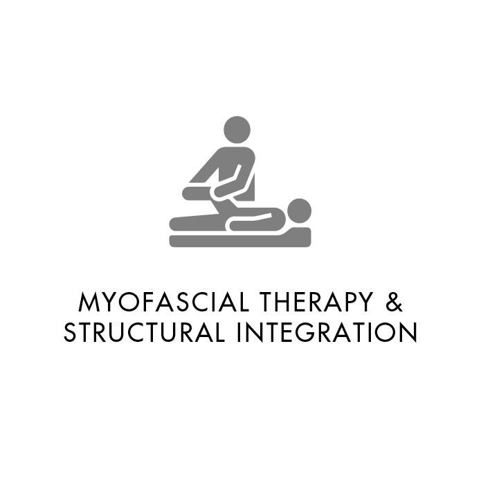Structural Integration  is a multi-stage treatment process that works by manipulating and releasing your body's fascia to relieve pain and improve physical function.  Your fascia is the connective tissue matrix that covers every bone, muscle, and organ.  Each session is designed to meet your specific needs using the latest anatomical models of how the different muscles of your body fit and function together.