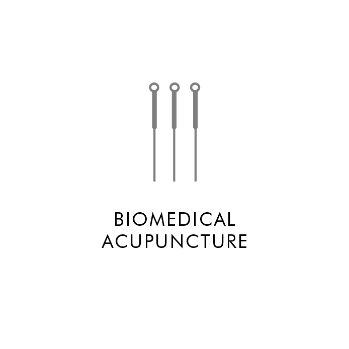 Biomedical Acupuncture (BMA) promotes healing in soft tissue by relieving muscle tension and inflammation via mechanical and biochemical functions.   Mechanical:  BMA needles create microscopic holes, allowing blood to flow and carry oxygen to tense muscles. Oxygen helps muscles relax, relieving pressure and pain. BMA stimulates healing by prompting the body to generate healthy tissue.   Biochemical:  BMA triggers the release of endorphins and other natural biochemicals into the bloodstream. Biochemicals promote the body's natural healing response locally and systemically to reduce pain and inflammation, decrease stress, enhance mood, and regulate hormone and immune systems.