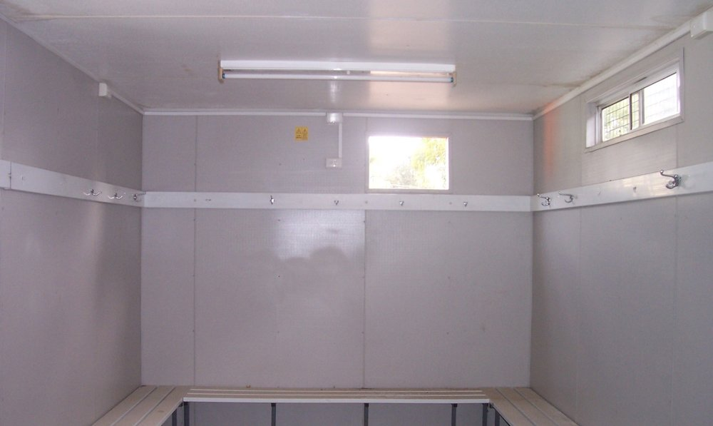 Change Room Shed Hire