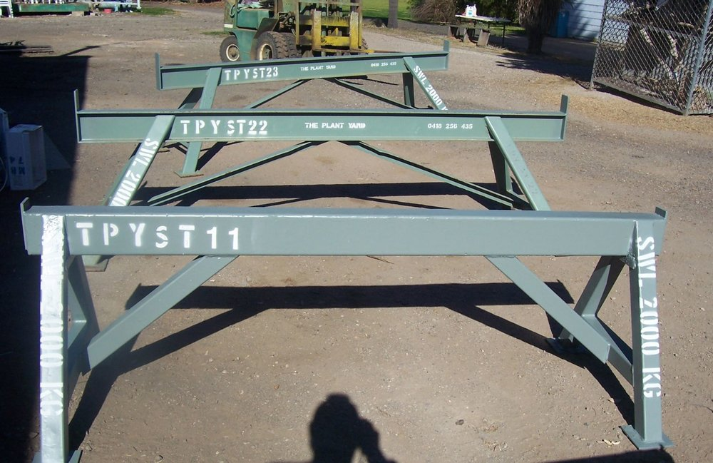 steel trestle hire.JPG