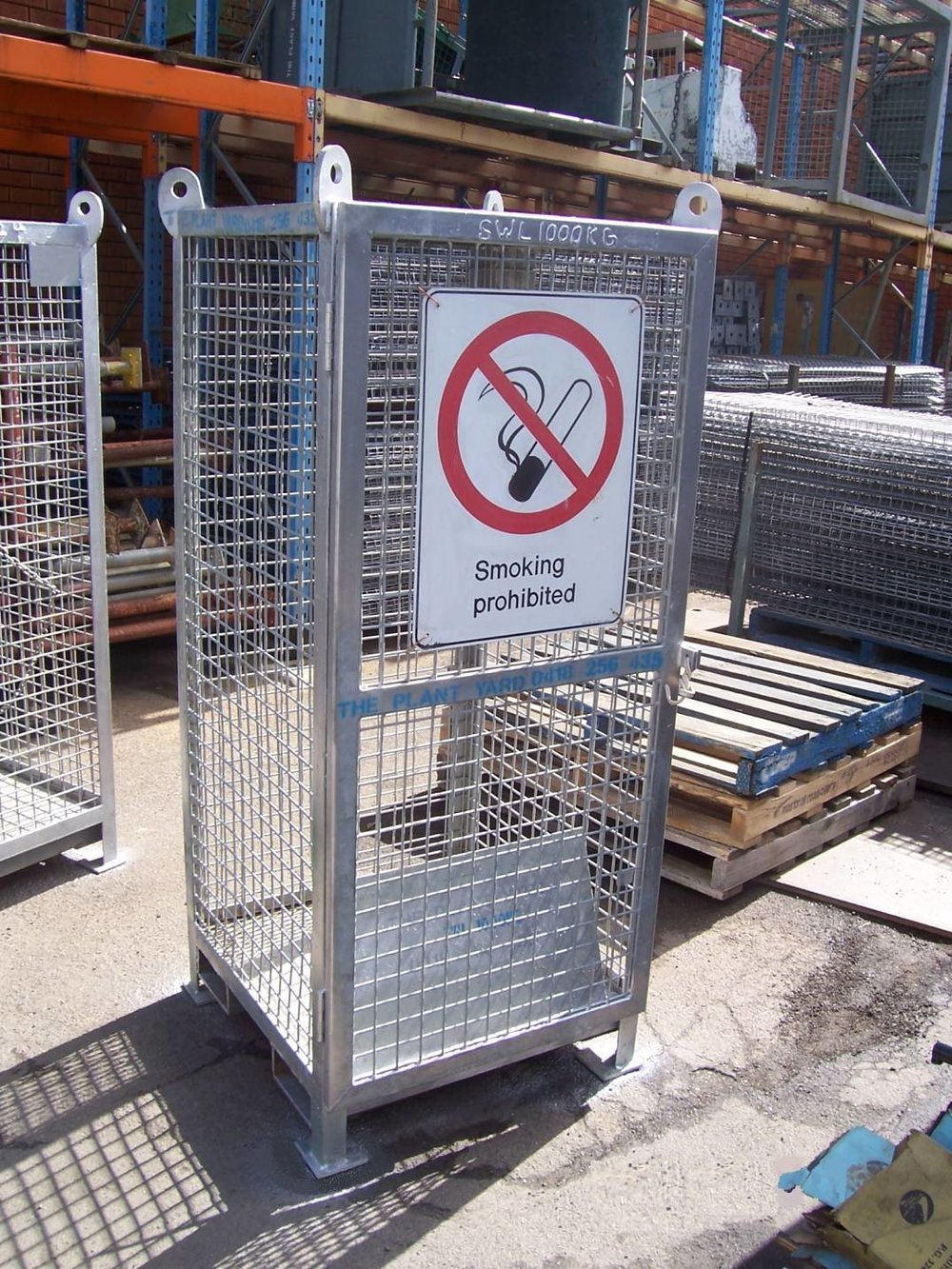 Gas Cylinder Cage rental.JPG