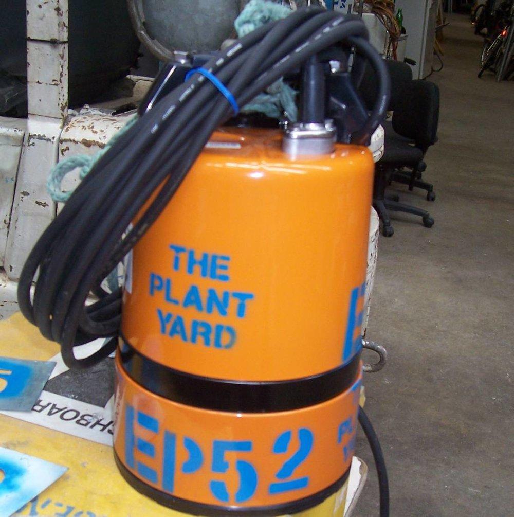 puddle pump hire