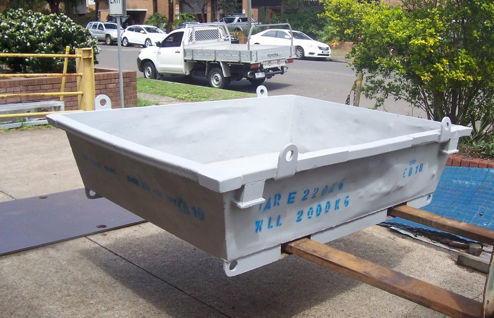 Concrete Wash Out Tray Hire.JPG