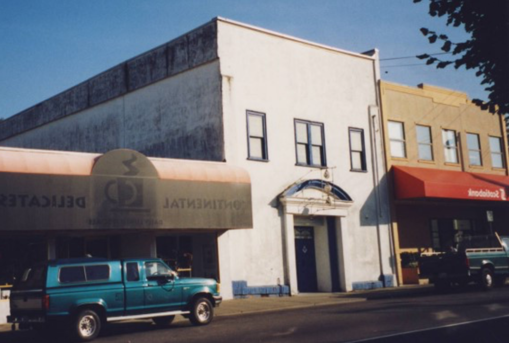 The 1924 Masonic Lodge in 1995