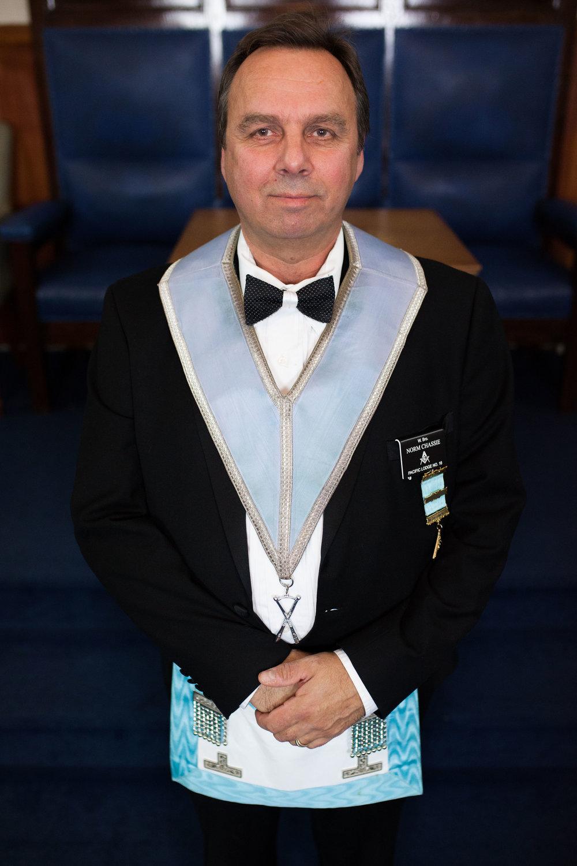DiRECTOR of Ceremonies - W. Bro. Norm Chassie