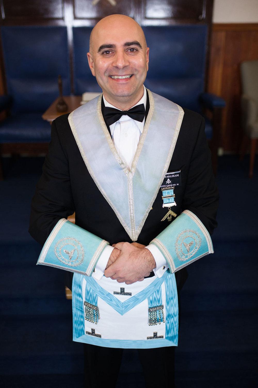 Senior Warden - W. Bro. Farzun Malekani