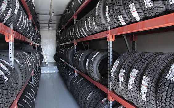 Tire Storage Solutions Tire Rack