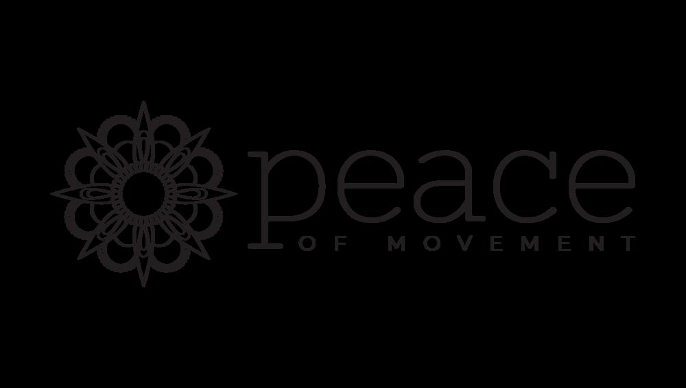 Peace of Movement Logo