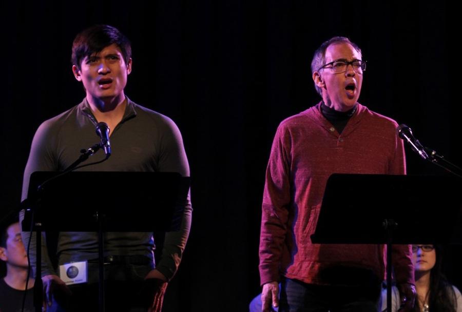 Paolo Montalban & Thom Sesma photo by Lia Chang