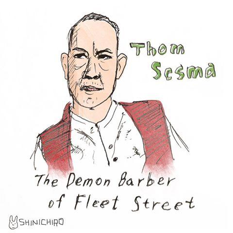 Thom Sesma Sweeney Fan Art Shinichiro