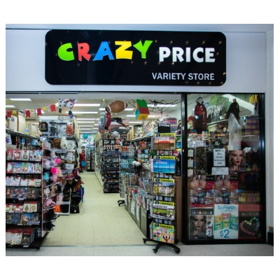 CRAZY PRICE VARIETY STORE - (08) 9309 1009