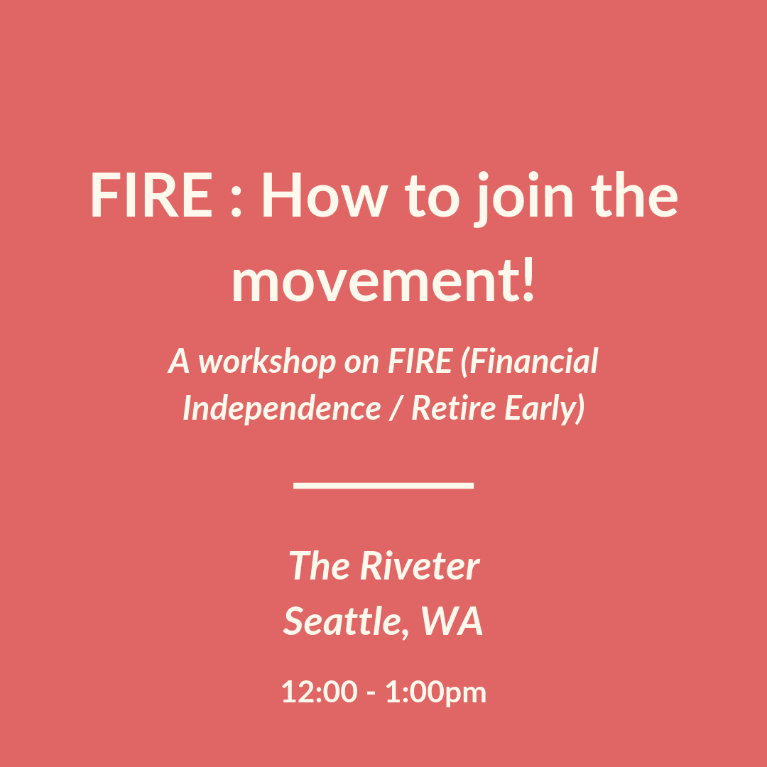 FIRE (financial independence / retire early) : How to join