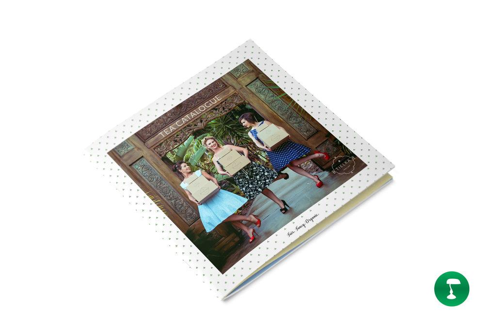 Award-winning Tea Catalogue for Tielka
