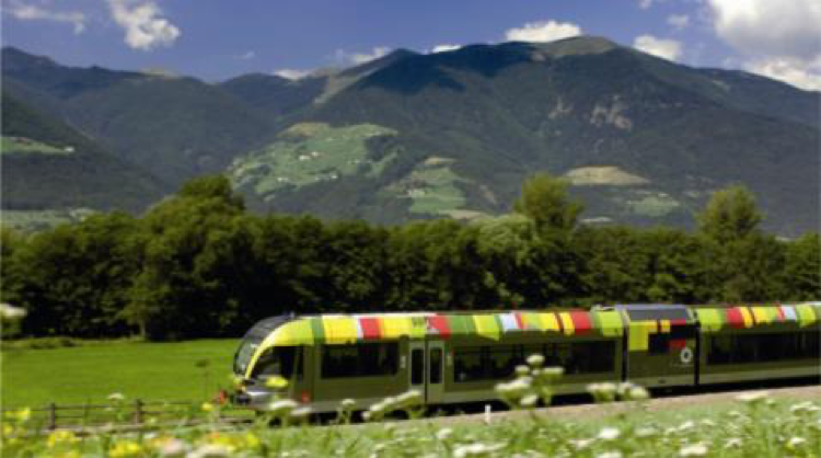 Sudtirol koepelmerk op Openbaar Vervoer
