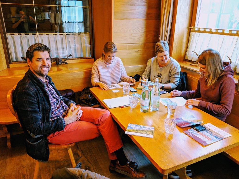 Meeting bij Taubers Unterwirt
