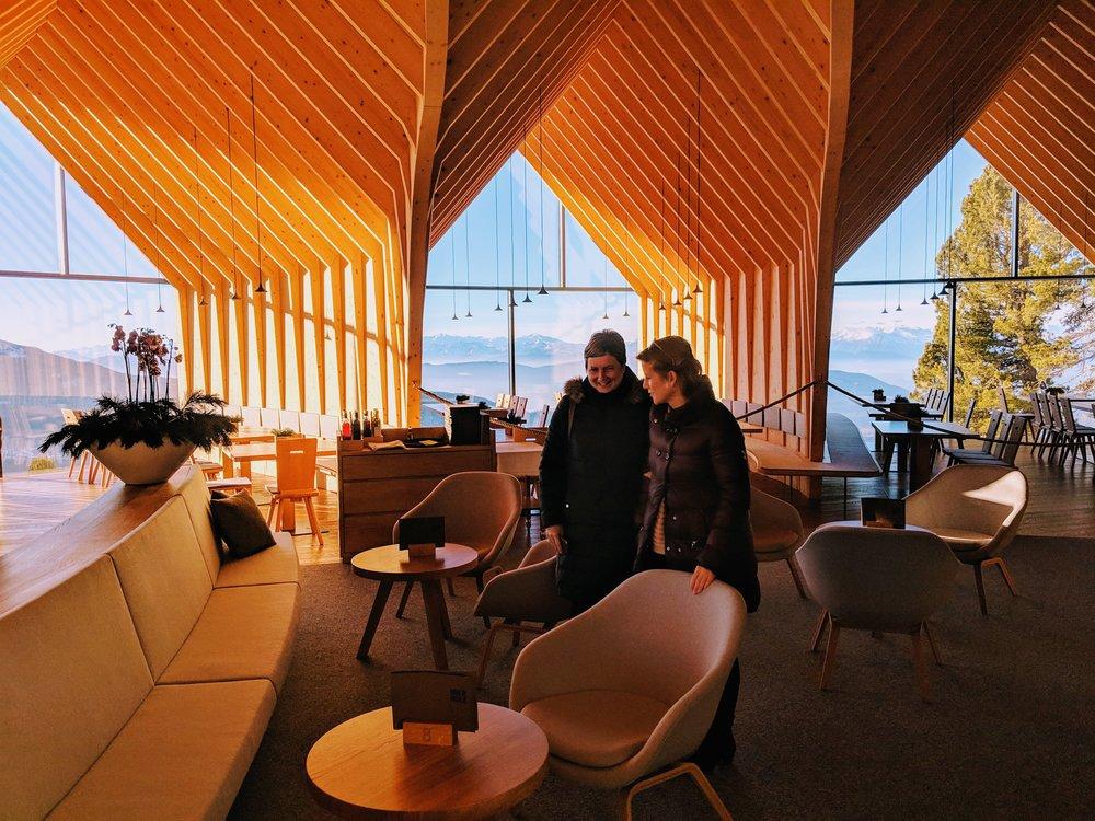 De Oberholz-hut: haute cuisine op 2000 meter.