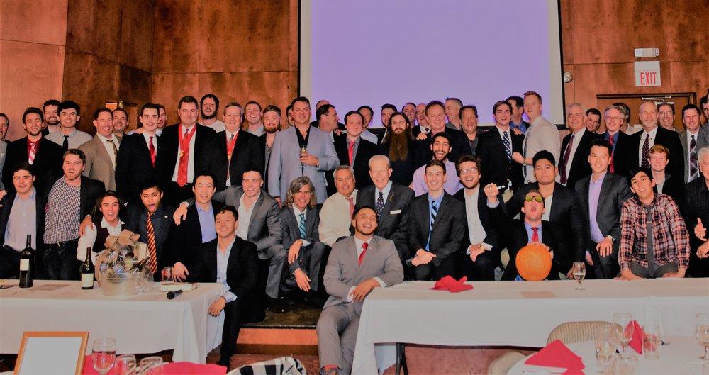 Zeta Xi 50th Anniversary Banquet, Nov. 2017