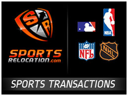 SportsRelocation.com Sports Transactions