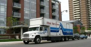 SportsRelocation.com Moving Van