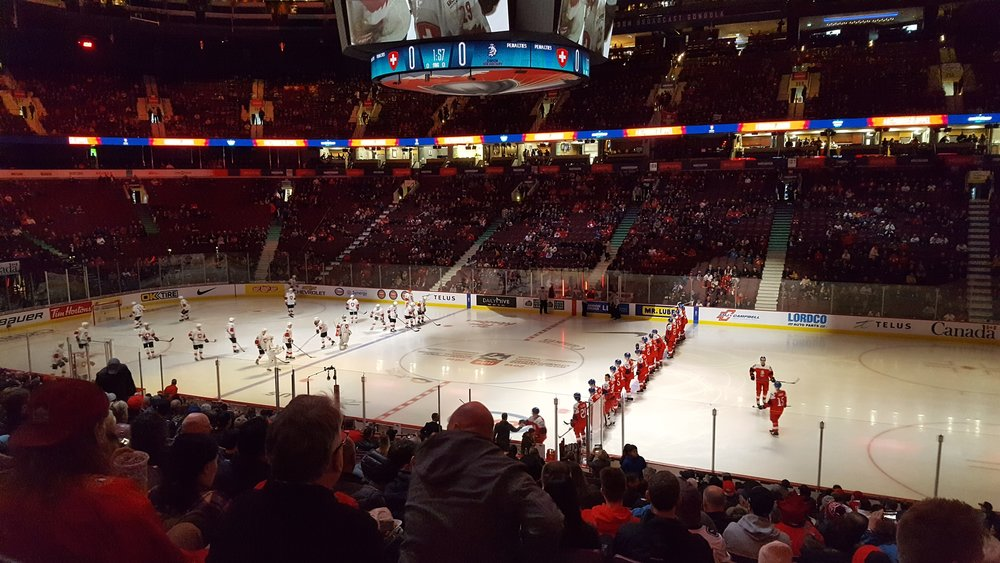 World Junior Ice Hockey tournament hosted in Vancouver this year.