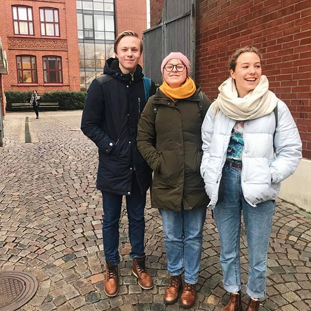 Förra veckan hade Credogruppen på Spyken i Lund bönepromenad på skolan! 🙏🏽 Förväntansfulla för bönesvar!